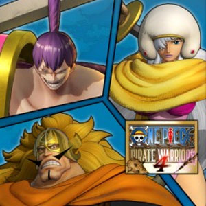 ONE PIECE PIRATE WARRIORS 4 Whole Cake Island Pack