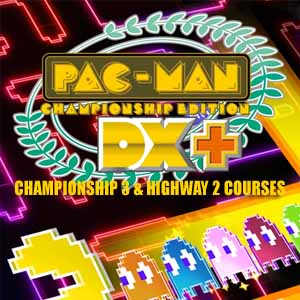 Pac-Man Championship Edition DX Plus Championship 3 and Highway 2 Courses