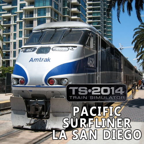 Train Simulator Pacific Surfliner LA San Diego