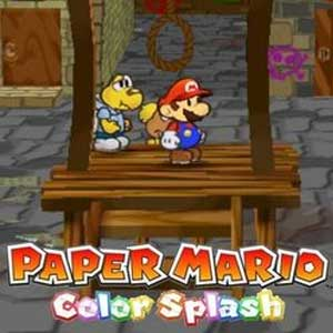 Buy Paper Mario Color Splash Wii U Download Code Compare Prices