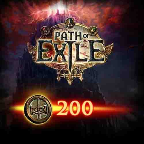 Buy Path Of Exile 200 Points GameCard Code Compare Prices