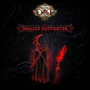 Path of Exile Malice Supporter Pack