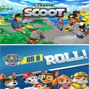 Paw Patrol On a Roll and Crayola Scoot