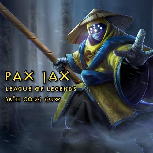 Pax Jax Skin League Of Legends EU West