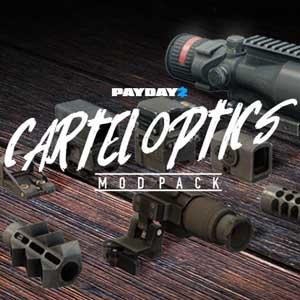 PAYDAY 2 Cartel Optics Mod Pack