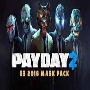 PAYDAY 2 E3 2016 Mask Pack