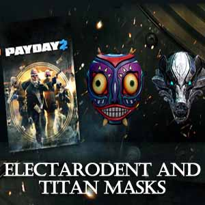 Buy PAYDAY 2 Electarodent and Titan Masks CD Key Compare Prices