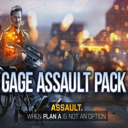 Payday 2 Gage Assault Pack