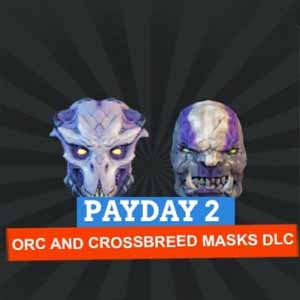 Payday 2 Orc and Crossbreed Masks