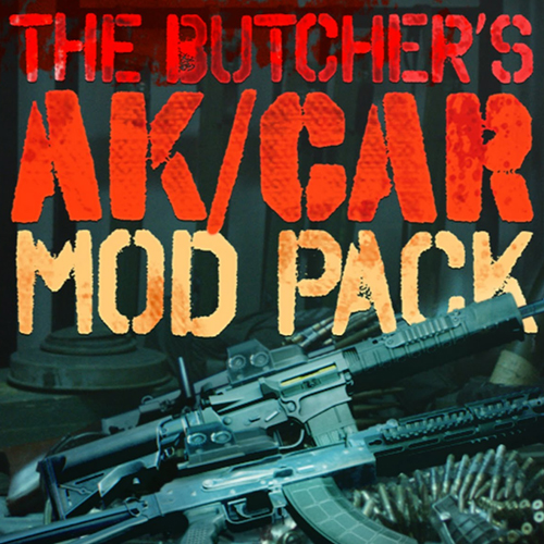 PAYDAY 2 The Butchers AK/CAR Mod Pack