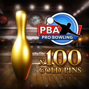 PBA Pro Bowling Gold Pins