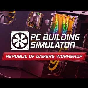 PC Building Simulator Republic of Gamers Workshop