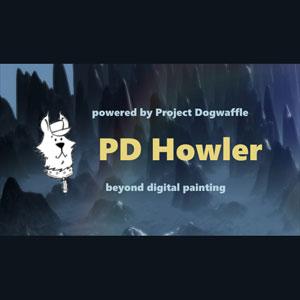 PD Howler 9.6 Digital Painter and Visual FX box