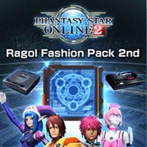 Phantasy Star Online 2 Ragol Fashion Pack 2nd