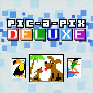 Pic-a-Pix Deluxe Mixed Puzzles 3