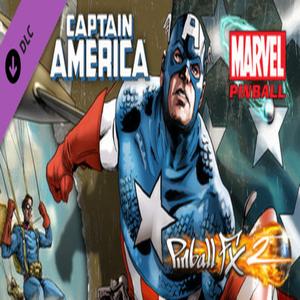 Pinball FX2 Captain America Table