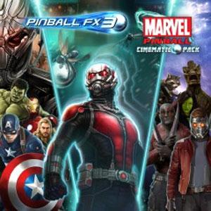Pinball FX3 Marvel Pinball Cinematic Pack