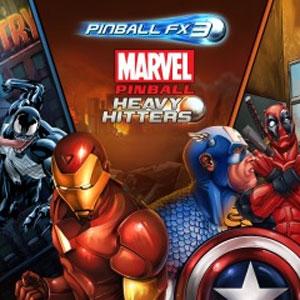 Pinball FX3 Marvel Pinball Heavy Hitters Pack