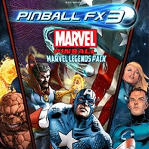 Buy Pinball FX3 Marvel Pinball Marvel Legends Pack PS4 Compare Prices