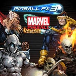 Pinball FX3 Marvel Pinball Vengeance and Virtue