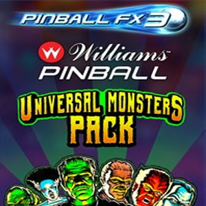 Buy Pinball FX3 Williams Pinball Universal Monsters Pack CD Key Compare Prices