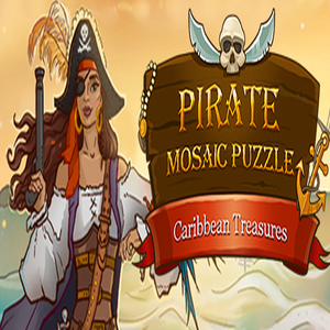 Pirate Mosaic Puzzle Caribbean Treasures
