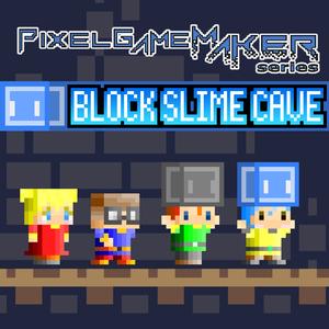 Pixel Game Maker Series BLOCK SLIME CAVE