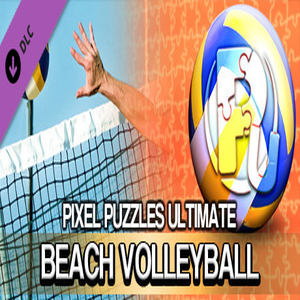Pixel Puzzles Ultimate Puzzle Pack Beach Volleyball