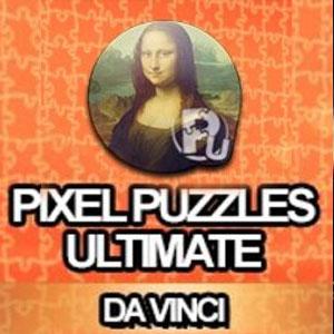 Pixel Puzzles Ultimate Puzzle Pack Da Vinci