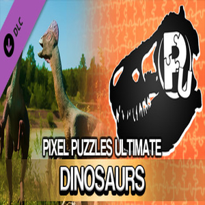 Pixel Puzzles Ultimate Puzzle Pack Dinosaurs