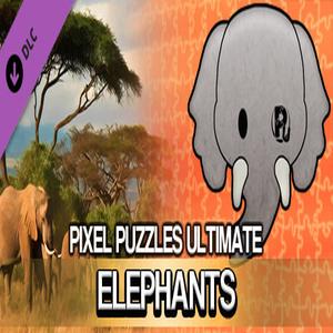 Pixel Puzzles Ultimate Puzzle Pack Elephants