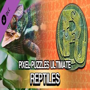 Pixel Puzzles Ultimate Puzzle Pack Reptile