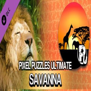 Pixel Puzzles Ultimate Puzzle Pack Savanna