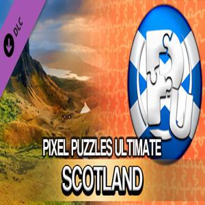 Pixel Puzzles Ultimate Puzzle Pack Scotland