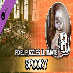 Pixel Puzzles Ultimate Puzzle Pack Spooky