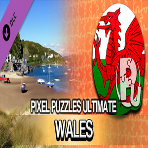 Pixel Puzzles Ultimate Puzzle Pack Wales