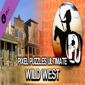 Pixel Puzzles Ultimate Puzzle Pack Wild West