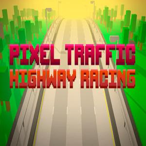 Pixel Traffic Highway Racing
