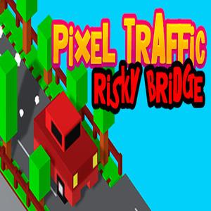 Pixel Traffic Risky Bridge