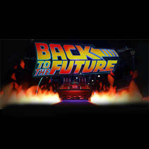 Planet Coaster Back to the Future Time Machine Construction Kit
