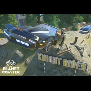 Planet Coaster Knight Rider K.I.T.T. Construction Kit