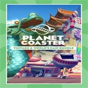Planet Coaster Vintage & Worlds Fair Bundle