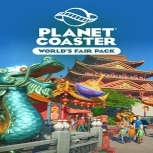 Planet Coaster Worlds Fair Pack