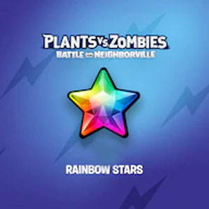 Plants vs. Zombies Battle for Neighborville Rainbow Stars