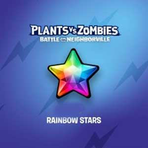 Plants vs Zombies Battle for Neighborville Rainbow Stars