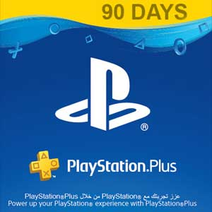 Playstation Plus 90 Days CARD PSN