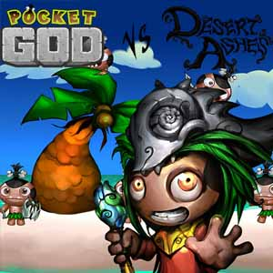 Pocket God vs Desert Ashes