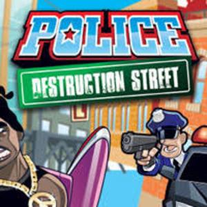 Police Destruction Street