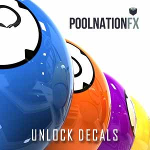 Pool Nation FX Unlock Decals