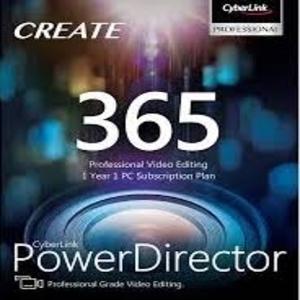 PowerDirector 18  365  1 year